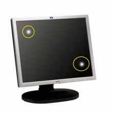 "Monitor HP L1925 , 19"" (Grado B)"