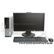 Ordenador Dell Optiplex 790 + TFT 20'' - Intel Core i5 2500 con 4096 Ram, 250 HDD, DVDRW, Coa Win 7 Profesional