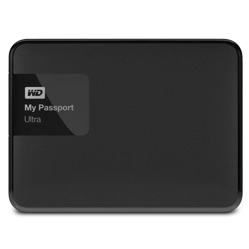 Disco Duro WD EXTERNO 2.5'' 1TB USB3.0 MY PASSPORT ULTRA NEGRO