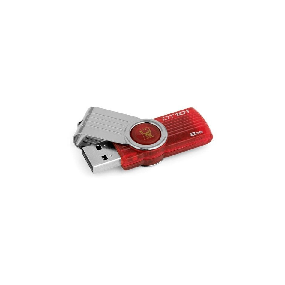 Kingston DataTraveler 8GB USB 2.0 ROJO