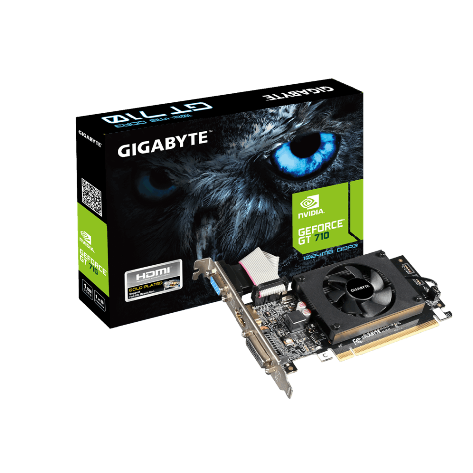 Placa Grafica GIGABYTE GT 710 1GB DDR3
