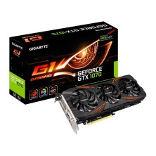 Tarjeta Grafica GIGABYTE GeForce GTX 1070 G1 Gaming 8GB