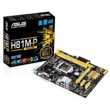 Placa Base ASUS H81M-P PLUS Sk1150