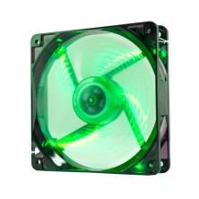 Ventilador caja coolfan NOX  12cm, 19DBA, Verde