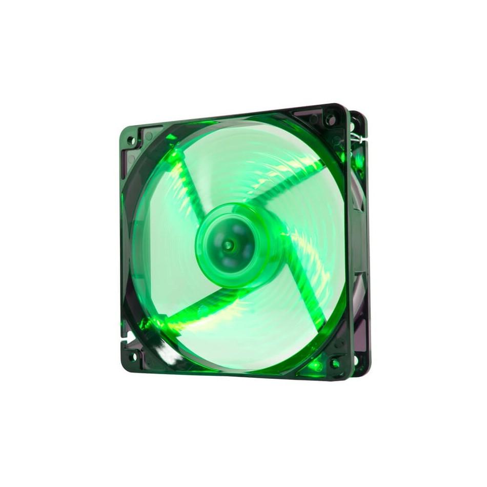 Comprar Ventilador caja coolfan NOX  12cm, 19DBA, Verde