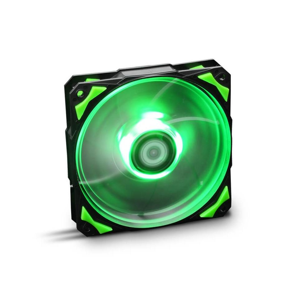 Comprar Ventilador caja Hfan NOX  12cm,  Led Verde