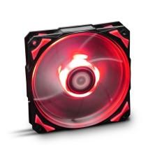 Ventilador caja Hfan NOX 12cm, Led Rojo