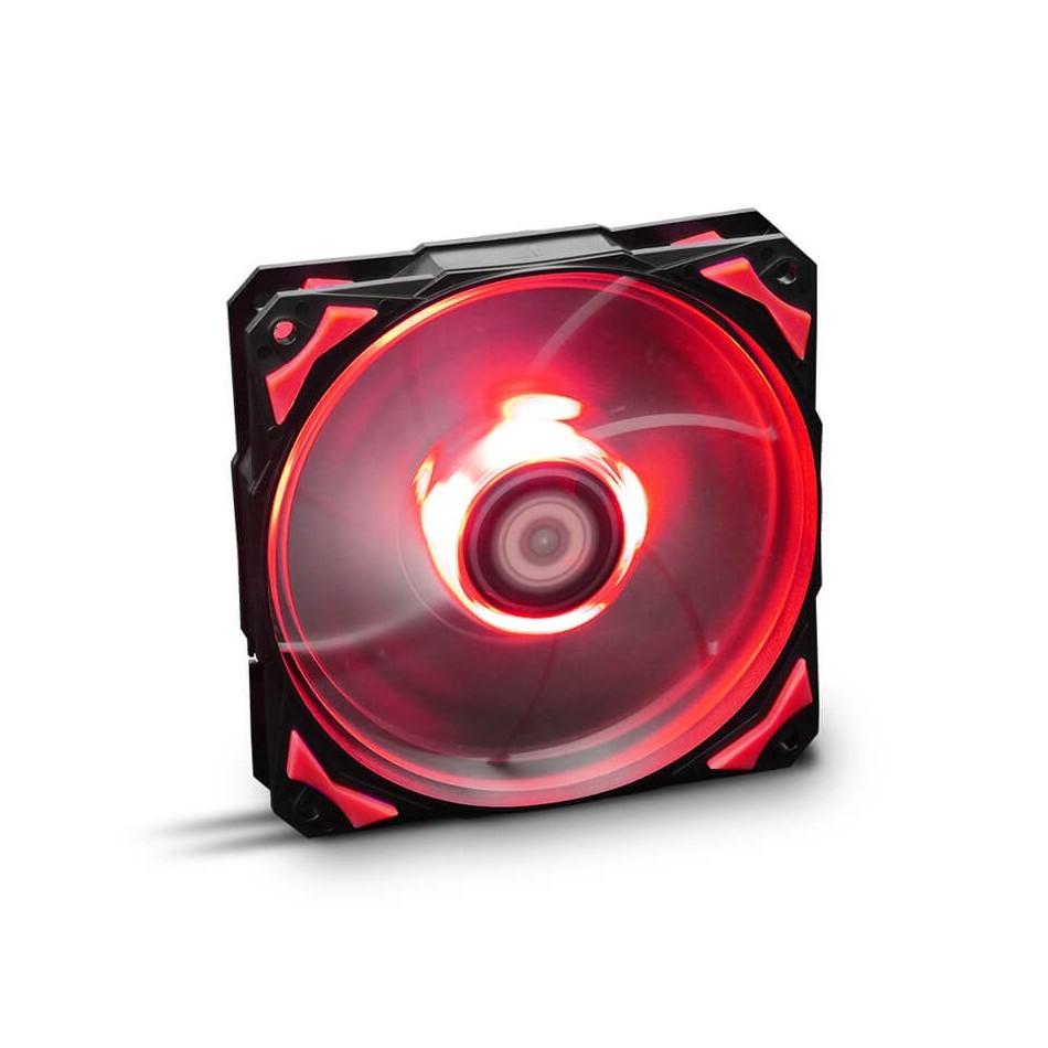 Comprar Ventilador caja Hfan NOX  12cm,  Led Rojo