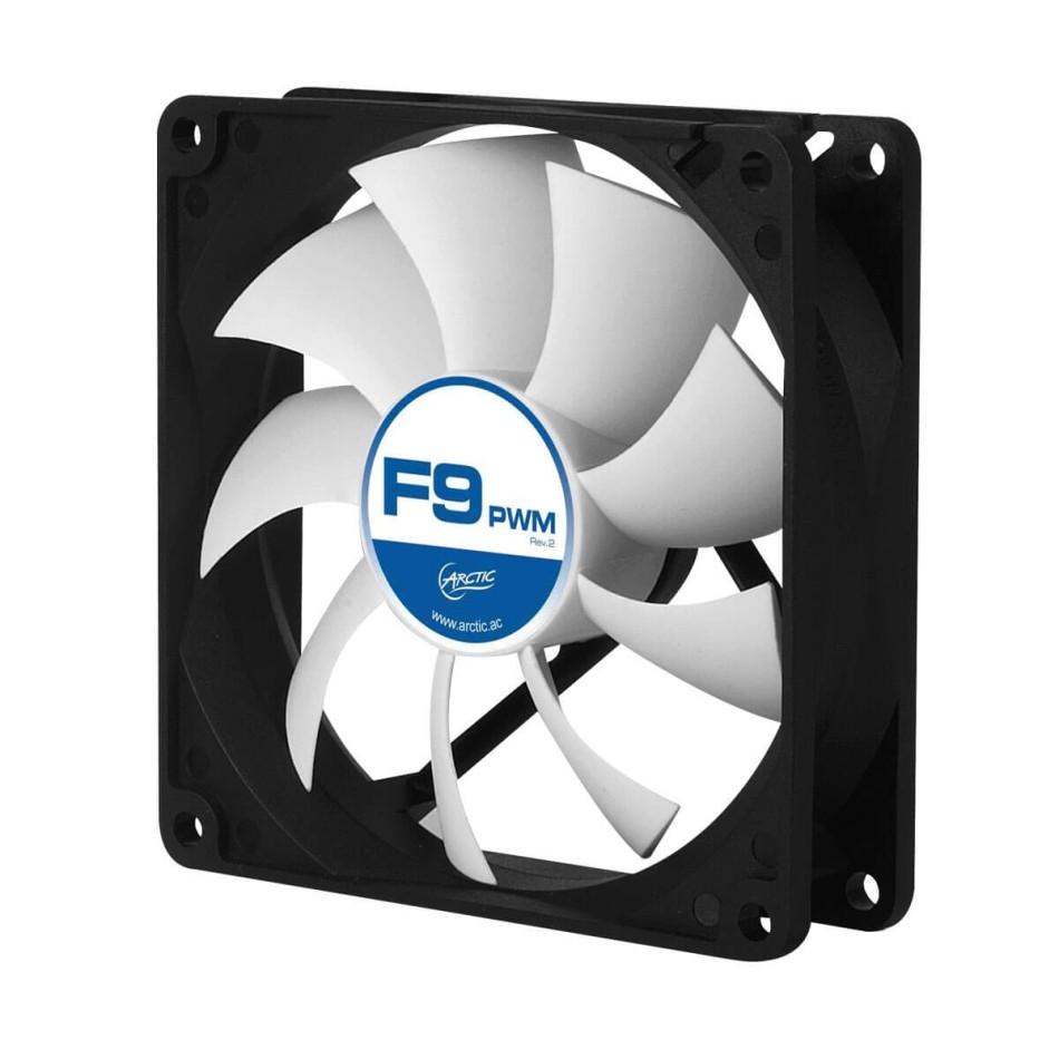 Ventilador caja F9 PWM PST ARCTIC 90mm, 0.4 Sone