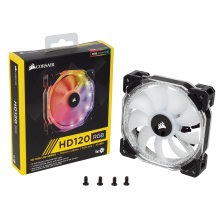 Ventilador Caja RGB HD120 Led Single Fan Sin Controlador de Corsair