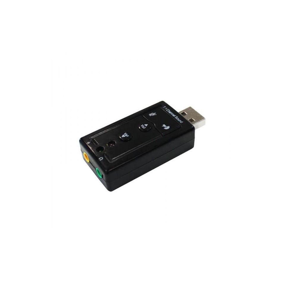 Tarjeta de Sonido Externa USB 7.1