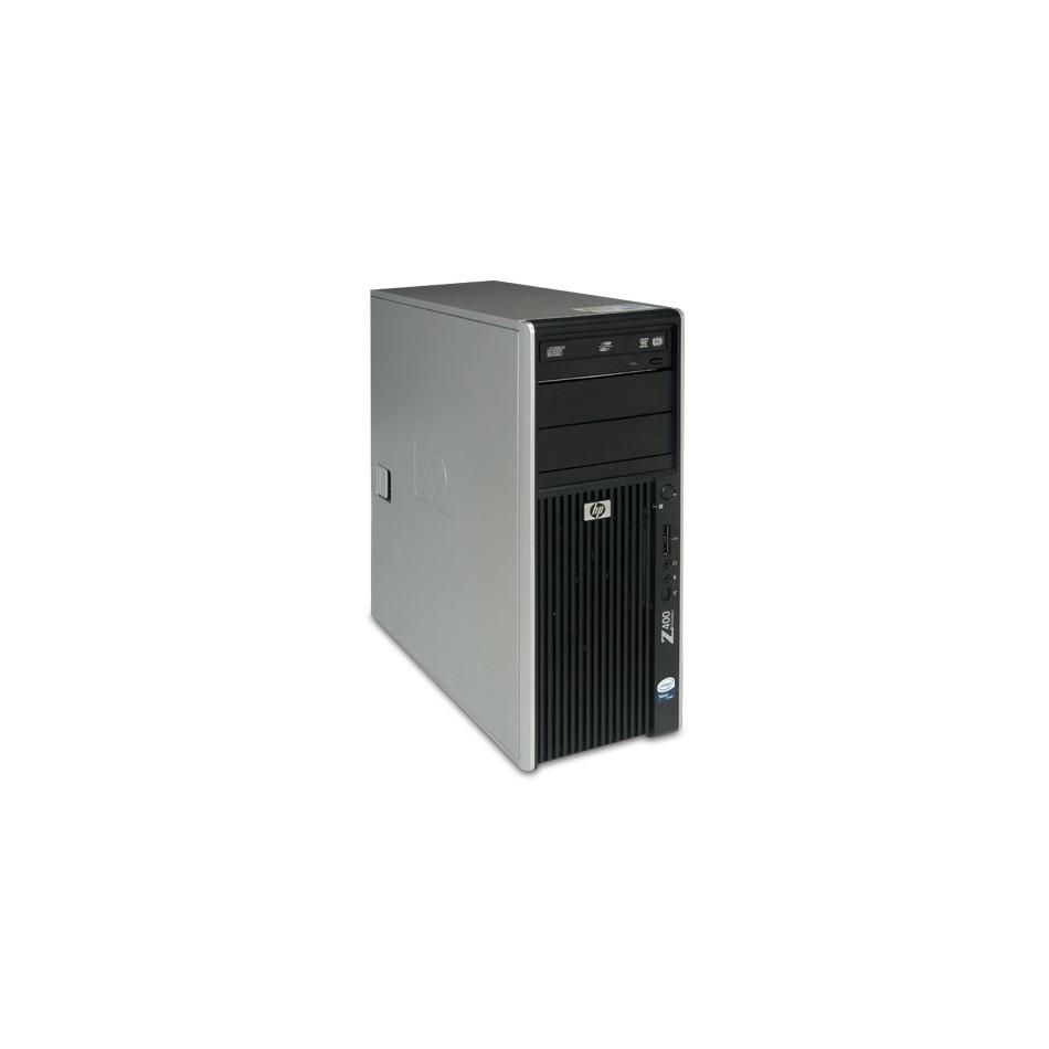 HP Workstation Z400 Intel® Xeon® Quad Core W3520 (8M Cache, 2.66 GHz, 4.80 GT/s Intel® QPI) con 6144 Ram, 500 HDD