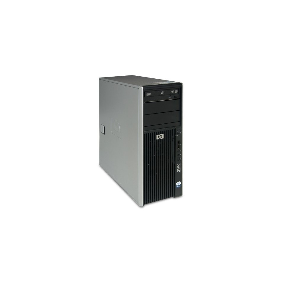 HP Workstation Z400 Intel® Xeon® Quad Core W3520 (8M Cache, 2.66 GHz, 4.80 GT/s Intel® QPI) con 6144 Ram, 500 HDD