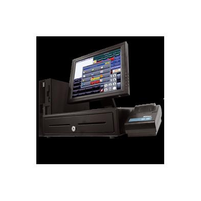 """Conjunto TPV ( Monitor Táctil 17"""" + IMPRESORA TICKET + CAJON + LECTOR CODIGO BARRAS )"""
