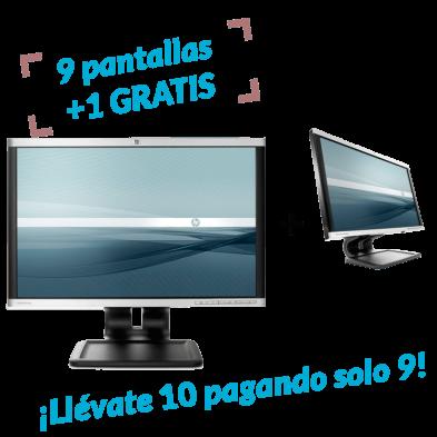 9 UDS. + 1 de REGALO | Monitor HP LA2205WG
