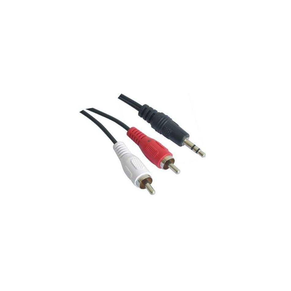Comprar CABLE AUDIO ESTEREO, 3.5/M-2xRCA/M, 1.5 M - 10 M