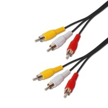 Cable Audio Estereo, 2xRCAM-2xRCAM 1.8m - 30m