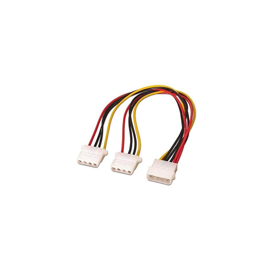 """Comprar CABLE ALIMENTACION MOLEX, 5.25""""/M-2x5.25""""/H, 30CM"""