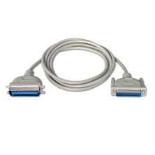 Cable impresora paralelo, DB25/M-CN36/M, Beige, 1.8m