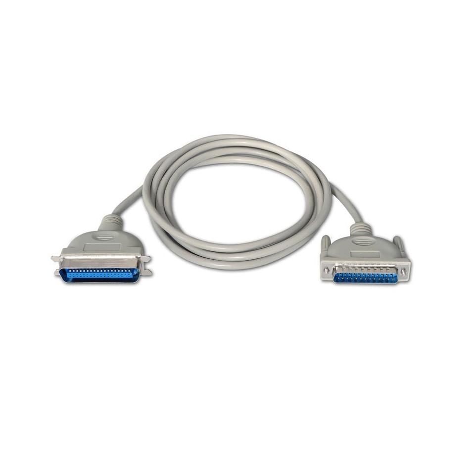 Comprar CABLE IMPRESORA PARALELO, DB25/M-CN36/M, Beige, 1.8m