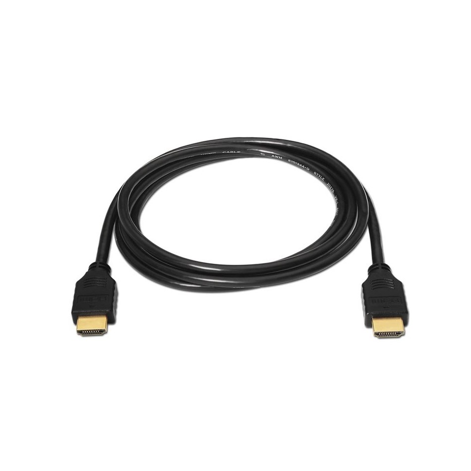 Cable HDMI alta velocidad, A/M-A/M, negro, 1.8m