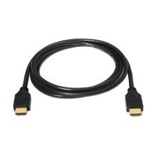 Cable HDMI alta velocidad, A/M-A/M, negro, 1.8m