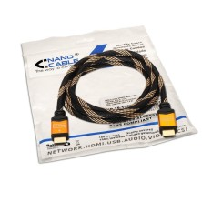 Cable HDMI alta velocidad, A/M-A/M, negro, 5.0m
