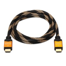 Cable HDMI alta velocidad, A/M-A/M, negro, 5.0m