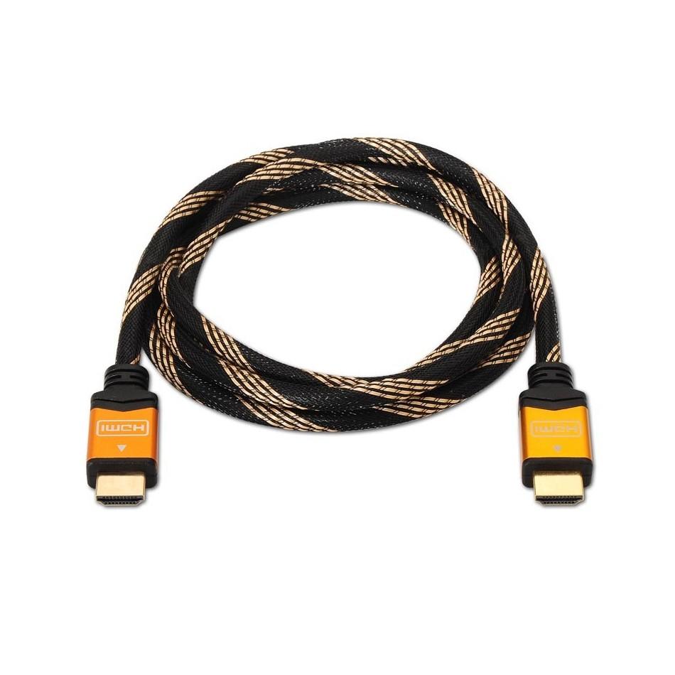 Comprar Cable HDMI alta velocidad / HEC, A/M-A/M, oro, 5.0m