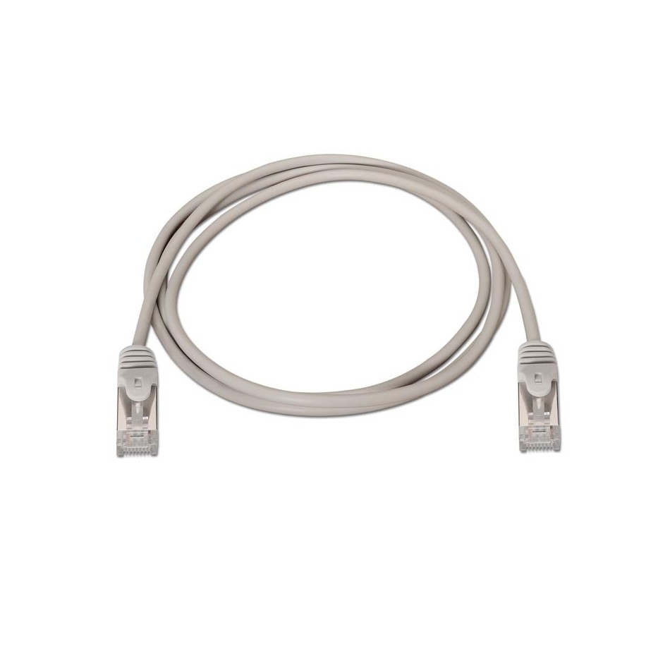 Comprar Cable de red latiguillo RJ45 Cat.6 FTP AWG24, Gris, 10m