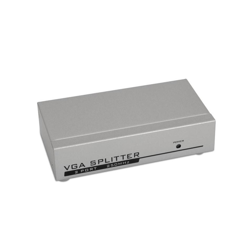 Comprar SVGA duplicador para 2 monitores con alimentación