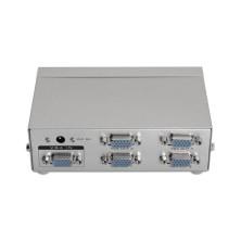 SVGA duplicador para 4 monitores con alimentación
