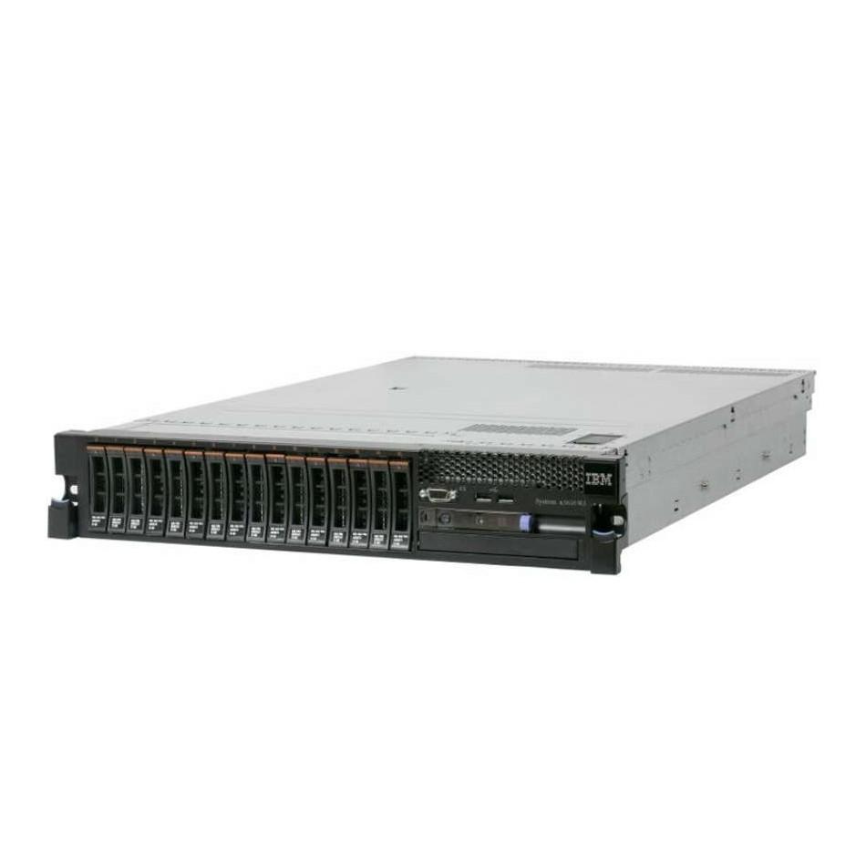 SERVIDOR IBM SYSTEM X3650 M3 RACK   Xeon E5620 2.4GHz   12 GB Ram   5x 500GB HDD   CD