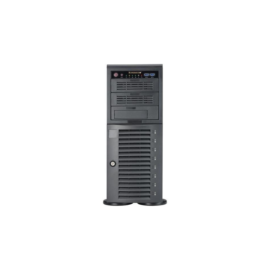 SERVIDOR SUPER MICRO | Core 2 Quad Q9550 2.8GHz | 2 GB Ram | 80 HDD | DVDRW