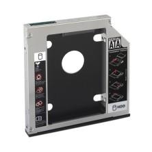 NANOCABLE Adaptador HDD 9.5MM PARA UNIDAD OPTICA PORTATIL 12.7MM 10.99.0102