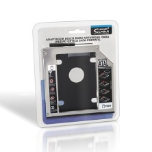 NANOCABLE Adaptador HDD 9.5MM PARA UNIDAD OPTICA PORTATIL 12.7MM 10.99.0102