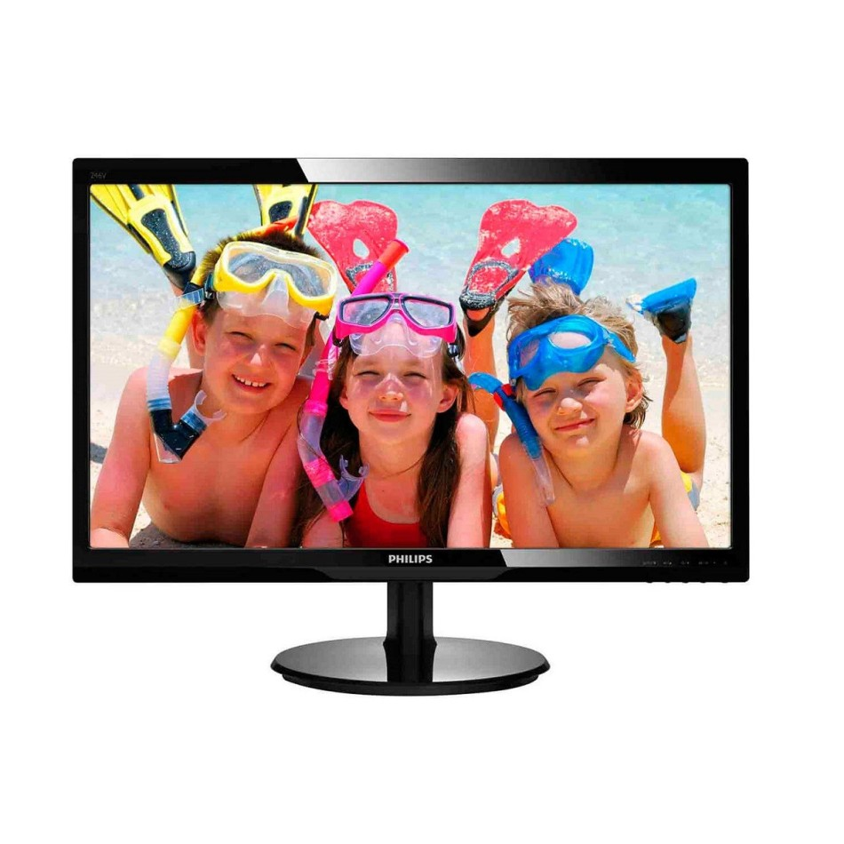 "Comprar Monitores PC PHILIPS 246V5LHAB 24"" FHD LED MULTIMEDIA"