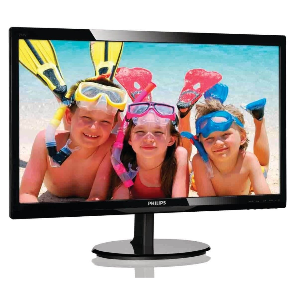 "Comprar Monitores PC LED PHILIPS 246V5LSB 24"" 16:9 FULLHD"