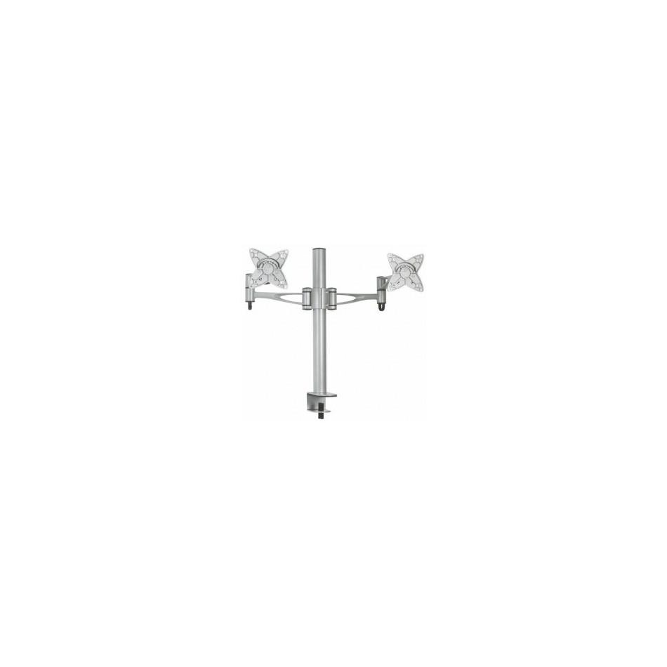 "Comprar Soporte de mesa para 2 pantallas (monitor / plasma / LCD / LED) 13""-27"" Plata - DB1223TN-S"