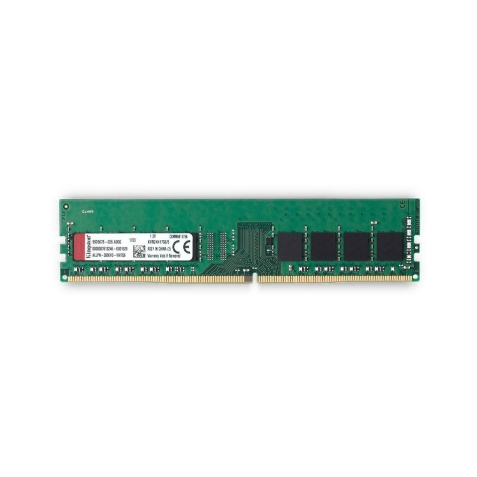 MEMORIA KINGSTON | DIMM DDR4 | 8GB | 2400MHZ | CL17