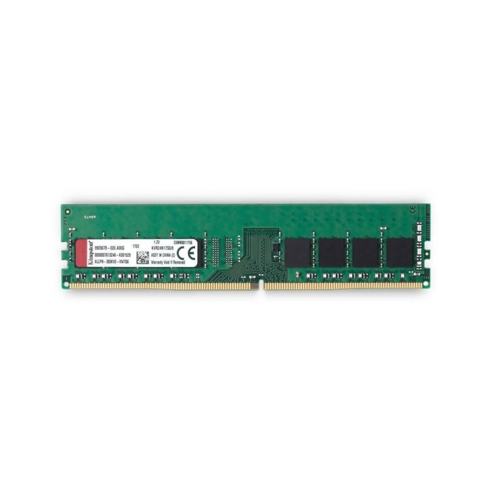 MEMORIA KINGSTON | DIMM DDR4 | 16GB | 2400MHZ | CL17