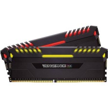 MEMORIA CORSAIR DIMM DDR4 16GB (KIT 2X8GB) 3600MHZ CL18 VENGEANCE RGB