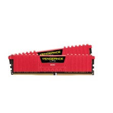 MEMORIA CORSAIR DIMM DDR4 8GB (KIT 2X4GB) 3000MHZ CL15 VENGEANCE LPX RED