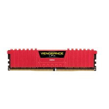 MEMORIA CORSAIR DIMM DDR4 8GB 2666MHZ CL16 VENGEANCE LPX RED