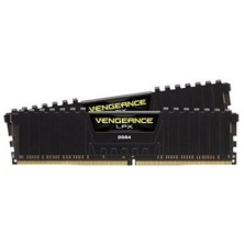 MEMORIA CORSAIR DIMM DDR4 8GB (KIT 2X4GB) 2400MHZ CL16 VENGEANCE LPX BLACK