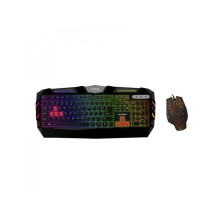 TECLADO + RATON GAMING APPROX APPCROME- 2400DPI - LED 7 COLORES