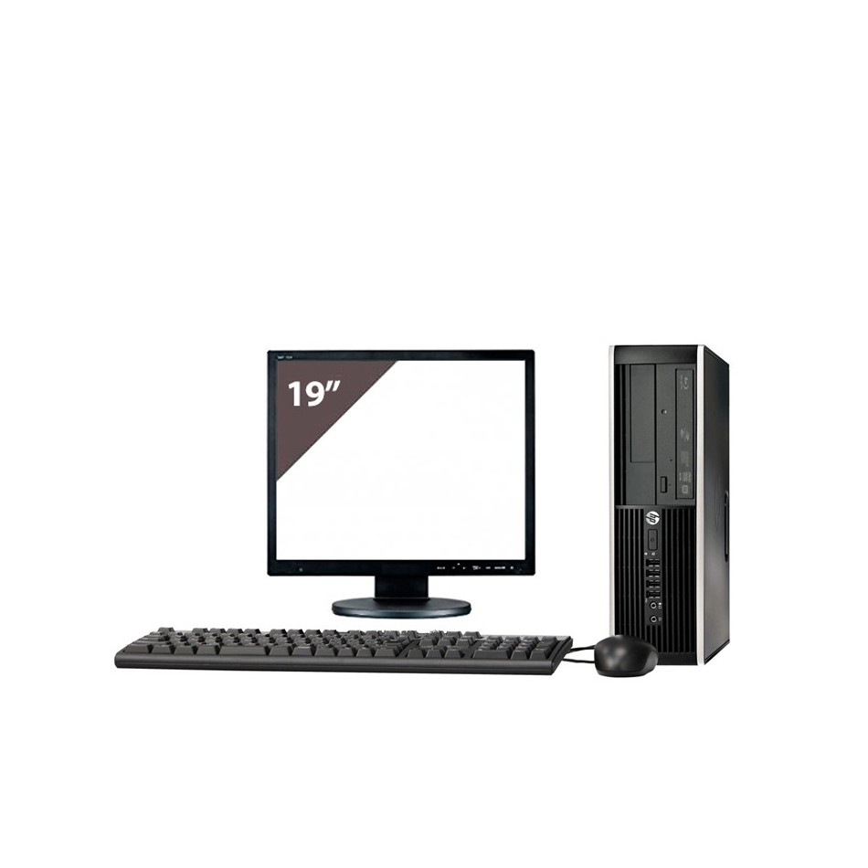 HP 8100 i3 550 3.2GHz | 4 GB Ram | 320 HDD | LECTOR | LCD 19""