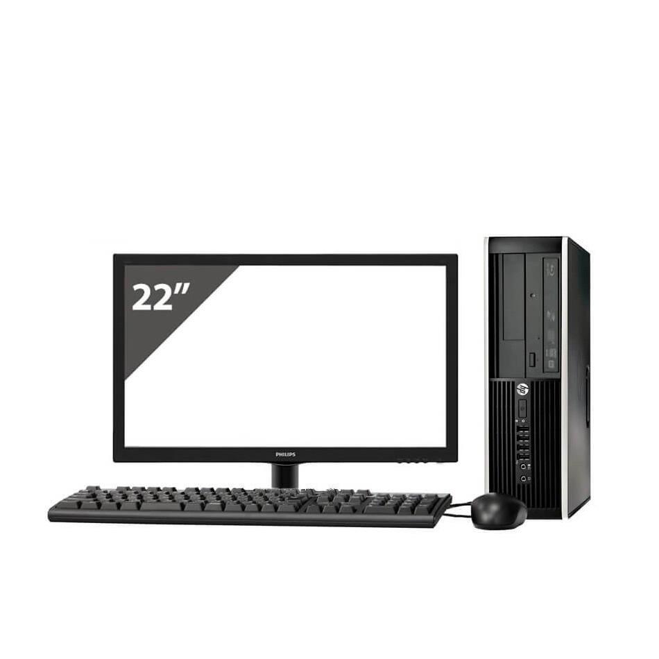 "HP 8100 i3 550 3.2GHz   4 GB Ram   320 HDD   LECTOR   LCD 22"""