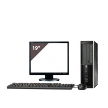 "HP 8100 i3 530 2.9GHz | 4 GB Ram | 250 HDD | LECTOR | LCD 19"""