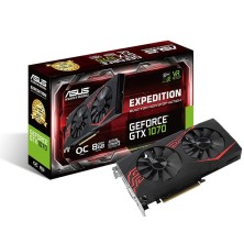 Tarjeta Grafica ASUS Expedition GeForce GTX 1070 OC Edition 8GB GDDR5